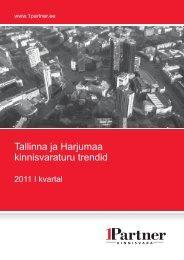Tallinna ja Harjumaa kinnisvaraturu trendid - Adaur.ee