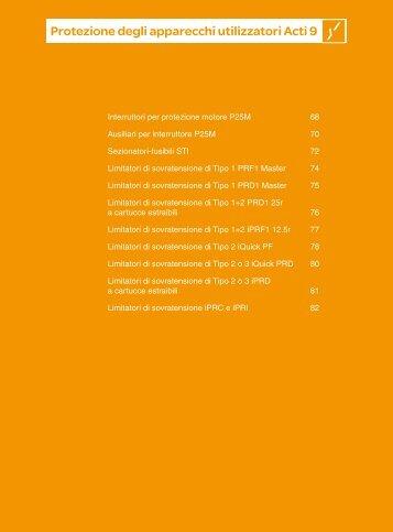 Protezione degli apparecchi utilizzatori Acti 9 - Schneider Electric