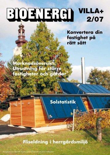 Hett att konvertera större centraler - Bioenergitidningen