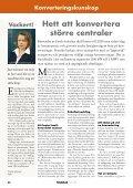 Hett att konvertera större centraler - Bioenergitidningen - Page 2