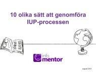 Pedagogisk planering - InfoMentor