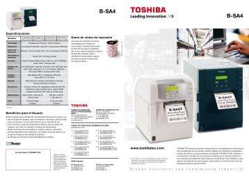 B-SA4 B-SA4 - Toshiba Tec