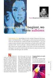Artikel als PDF anschauen - Klang der Stille