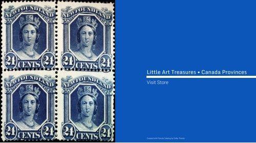 Rare Stamps • Canada: All Provinces