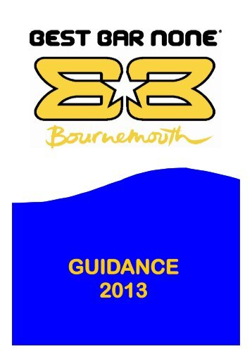 2013 Bournemouth BBN guidance notes