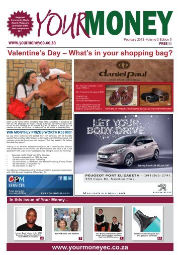 Issue 27 - February 2013 - Your Money