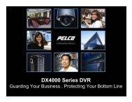 DX4000 Series DVR