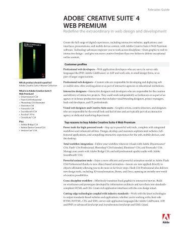OEM Creative Suite 5 Web Premium