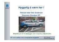Geir Andersen, Energieffektivisering i Drammen ... - Schneider Electric