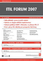 ITIL FORUM 2007 - CCB