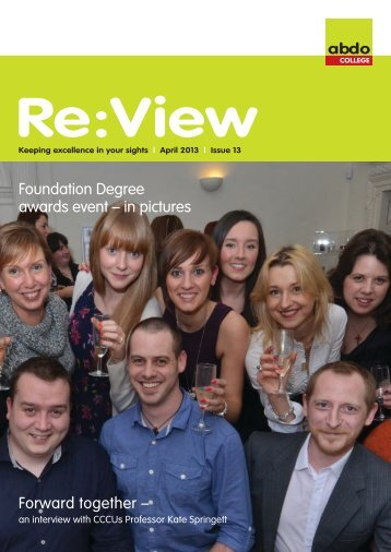 ReView April 2013.pdf - the ABDO email newsletter archive