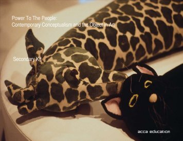Power To The People: Contemporary Conceptualism and ... - ACCA