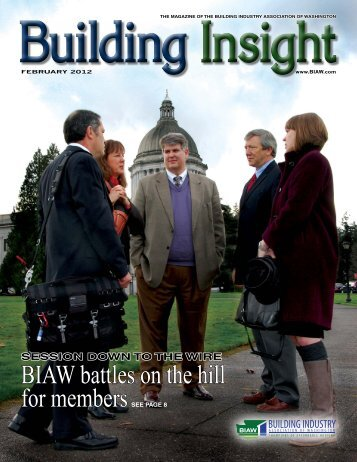 February BI 2012 - Building Industry Association of Washington