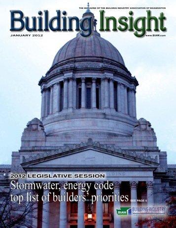 January BI 2012 - Building Industry Association of Washington