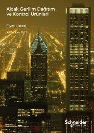 Fiyat Listesi - Schneider Electric