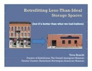 Retrofitting Less-Than-Ideal Storage Spaces - CCAHA
