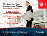 The Canadian Trade Commissioner Service - Canada Consulting ...
