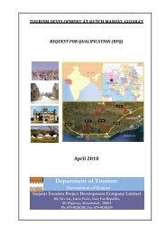 Invitation for Tourism Development at Kutch Mandvi, Gujarat