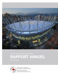 Rapport annuel 2012-2013 de l'AFIC - Canada Consulting Engineers