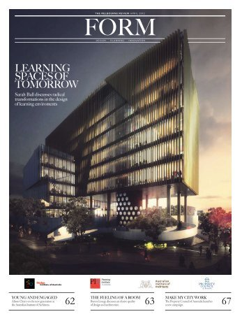 lEArNiNG spAcEs Of TOmOrrOw - Design Institute of Australia