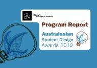 Program Report - Design Institute of Australia