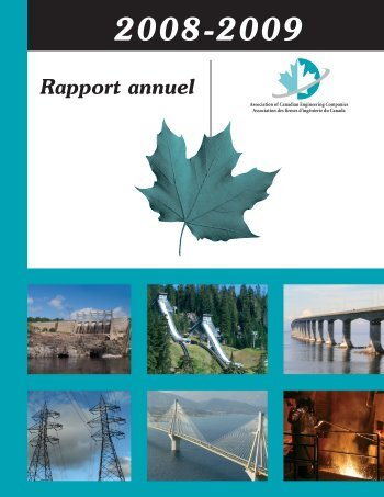 Rapport annuel de l'AFIC - Canada Consulting Engineers