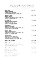 Státní závěrečné zkoušky a obhajoby bakalářských prací ...