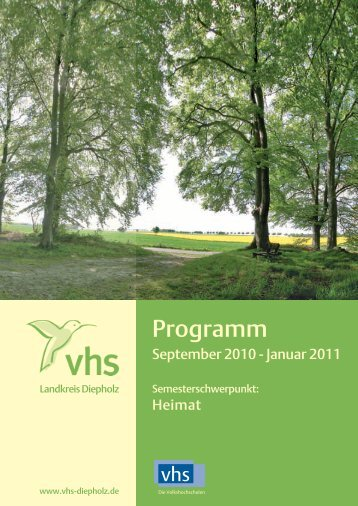 Programm - VHS Diepholz