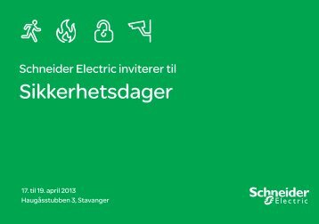 Hands out invitasjon_green.indd - Schneider Electric