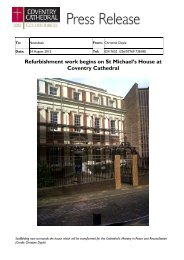 Refurbishment work begins on St Michael's House at Coventry ...