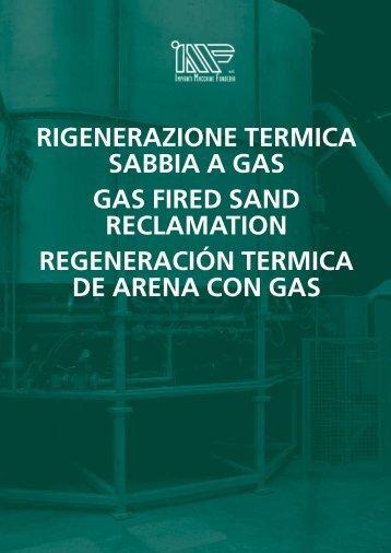 rIGENErAzIONE TErMIcA SABBIA A GAS GAS FIrEd ... - Meta-Mak