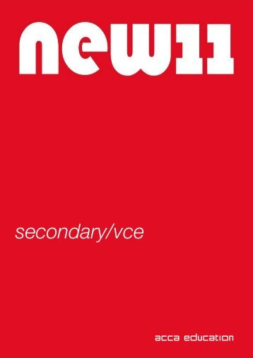 secondary/vce - ACCA