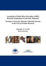 Research Symposium on University Museums