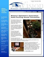 October | November - Missouri Optometric Association