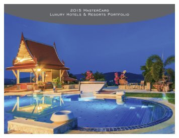 2015 MasterCard Luxury Hotels & Resorts Portfolio