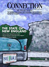 The State of New England - New England Board of Higher Education
