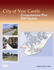 Comprehensive Plan 2009 Update PDF - City of New Castle ...