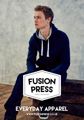 Fusion Press Everyday Apparel Collection