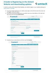 A Guide to Registering on the Amtech Website and downloading ...