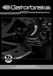 Gatorbrake 6 Piston Service Manual - Expanding Knowledge