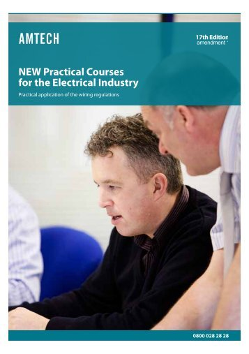 NEW Practical Courses for the Electrical Industry - Amtech
