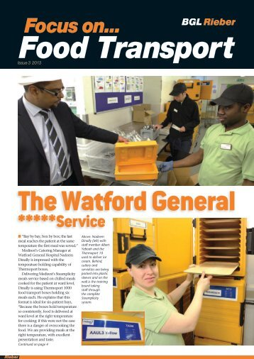 BGL Rieber Newsletter 1 2013 Focus On Food Transport