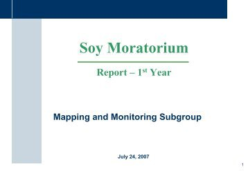 Validation of the mapping and monitoring system