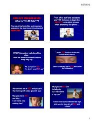 Download the Slides - Missouri Optometric Association