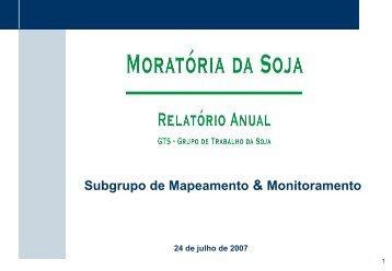 Subgrupo de Mapeamento