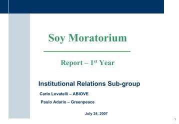 Institutional Relations Sub-group