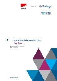 Scottish Island Renewables Project - Aquamarine Power