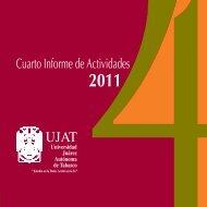 Cuarto Informe de Actividades - Universidad Juárez Autónoma de ...