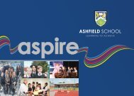 Download our Prospectus Here - Ashfield School