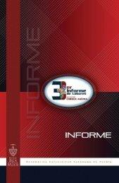 Tercer Informe, Gestión 2005-2009 - Transparencia - Benemérita ...
